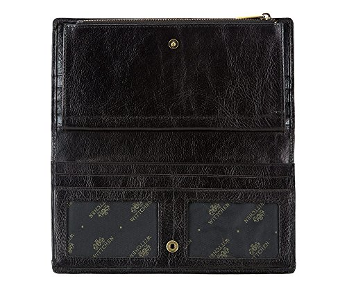 Cm Italy Grano 1 X Billetera Material 1 Tamaño 500 Color Negro 10 5 Wittchen 21 Horizontalmente 21 De Colección Cuero Orientación 7ABaAx