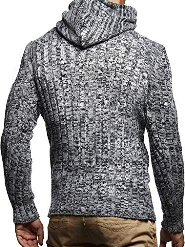 Leif Nelson Men's Pullover Knit Sweater LN-5400