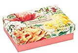 boxed Triple Milled Shea Butter Double Soap Boxed Gift Set, Morning Blossoms