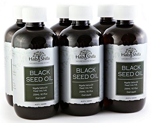 Hab Shifa Black Seed Oil (250ml) 6 Pack Bulk by Hab Shifa