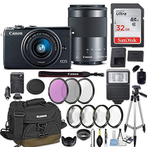 Canon EOS M100 Mirrorless Digital Camera w/EF-M 15-45mm f/3.