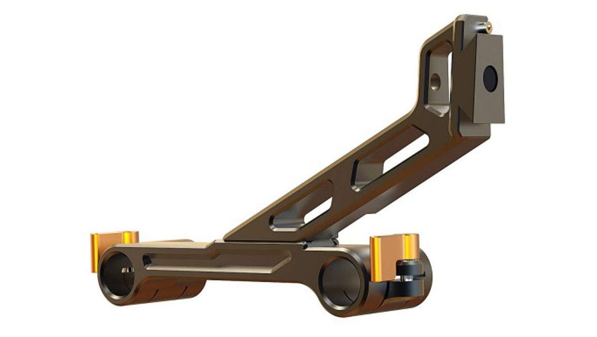 Bright Tangerine Strummer DNA/Blacklight 15mm Studio Swing Away Arm