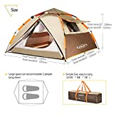 ZOMAKE-Dome-Tent-for-Camping-2-3-4-Person-Waterproof-Instant-Backpacking-Tent-Automatic-Hydraulic-Pop-Up-Tent-with-Easy-Setup-Carry-Bag-Included