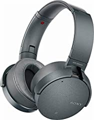 Hear nothing but the bass with these noise cancelling, Bluetooth headphones with EXTRA BASS that deliver powerful, clear sound, wireless freedom and up to 22 hours of battery life. Find the perfect sound for each song with the Sony Headphones...