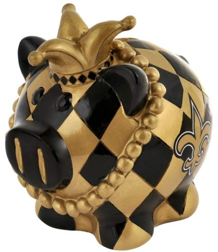 New Orleans Saints Game Tickets - New Orleans Saints Thematic Piggy Bank