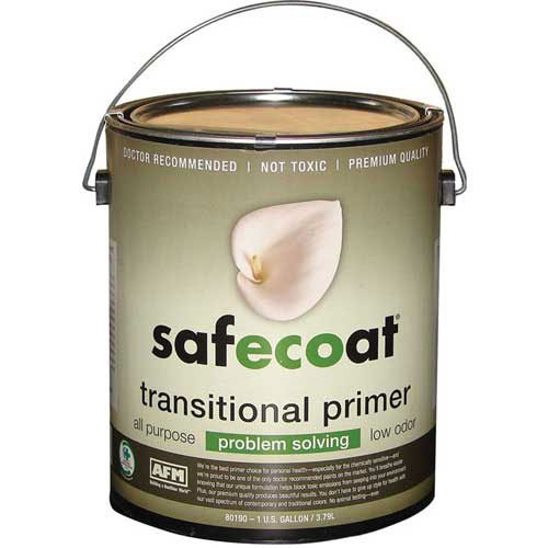 Afm Safecoat Transitional Primer, White Gallon Can 1/Case