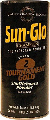 Sun-Glo #2 Shuffleboard Powder Wax (16 oz.) (Pack of 2) by Sun-Glo