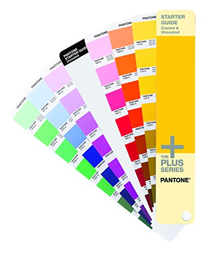 Pantone STARTER GUIDE Solid 543colours muestrario de color - Carta de color