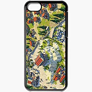 Personalized iPhone 5C Cell phone Case/Cover Skin Age Of Empires Online Black