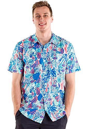 Tipsy Elves The Island Breeze Hawaiian Shirt: X-Large