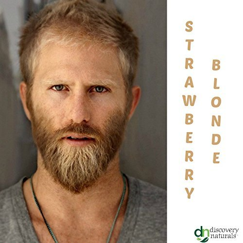 Manly Guy Strawberry Blonde Hair Beard Mustache Color 100 Natural Chemical Free