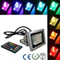 LED Flood Lights, RGB 4 Models with 16 Color Tones Spotlight,Memory Function, US 3-Plug,Waterproof Outdoor , CE, RoHS Certified Floodlight , for Garden, Yard, Party, Stage, AC85-265V