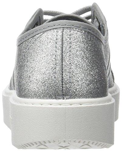 Plata Basket Unisex Zapatillas Glitter Plateado Victoria Adulto vpA6c