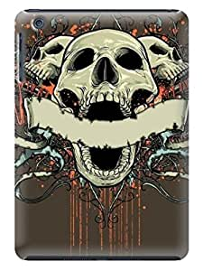 Durable Cases For ipad mini Cases Terror Skull Cover With Various Colors LarryToliver #1