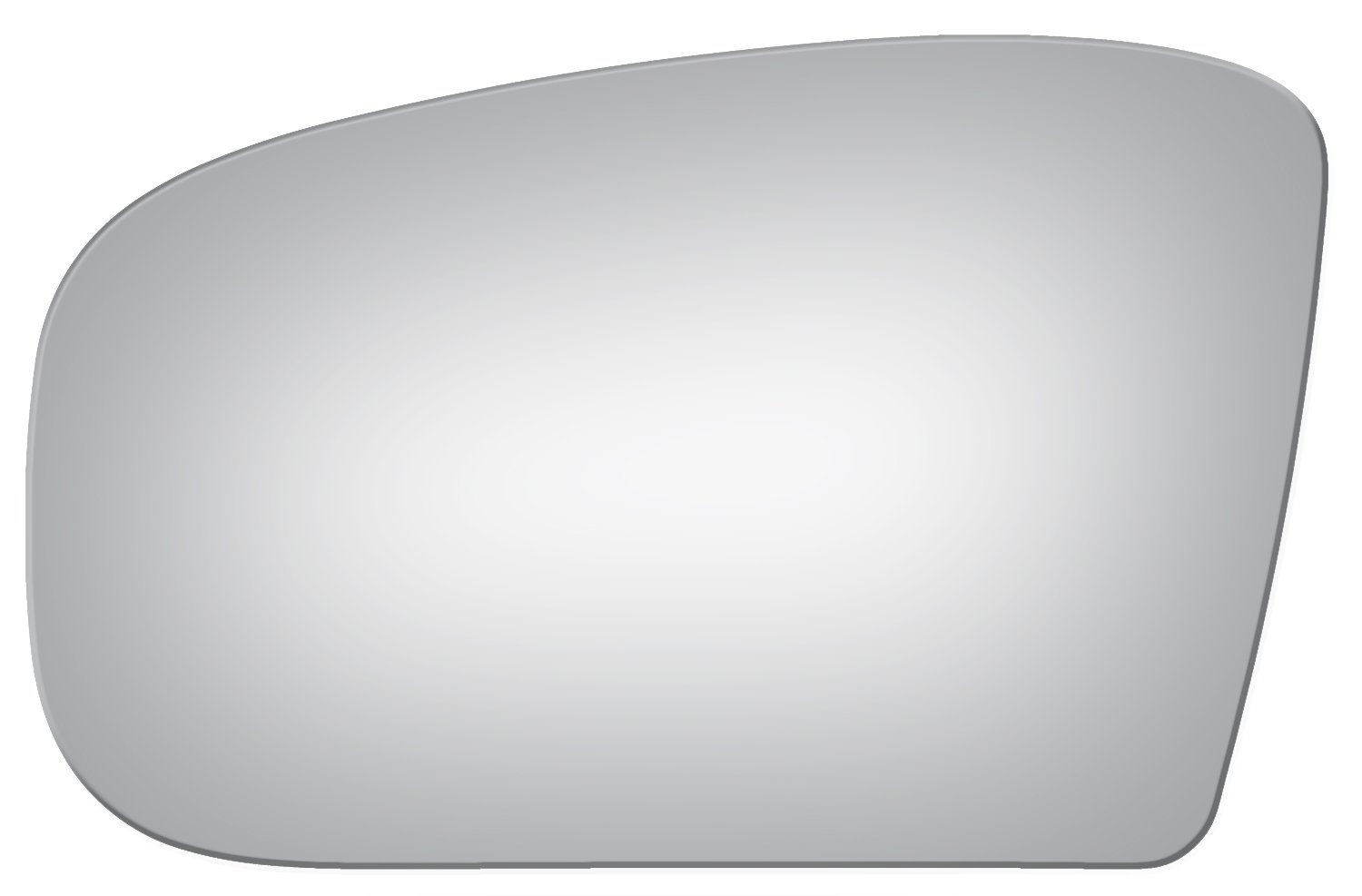 Burco 4004 Flat Driver Side Power Replacement Mirror Glass for Mercedes-Benz CL500, CL55 AMG, CL600, CL65 AMG, S350, S430, S500, S55 AMG, S600, S65 AMG (2000, 2001, 2002, 2003, 2004, 2005, 2006)