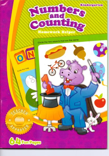 Numbers & Counting Homework Helper ~ Kindergarten