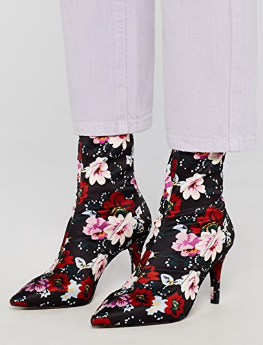 Boot 06 Pull Stretch Women's Multicolour Print Floral Ankle on FIND n4UAfR4