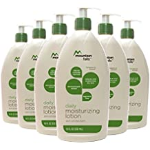 Mountain Falls Daily Moisturizing Lotion Skin Protectant with Natural Colloidal Oatmeal, Fragrance Free, Pump Bottle, Compare to Aveeno, 18 Fluid Ounce (Pack of 6)