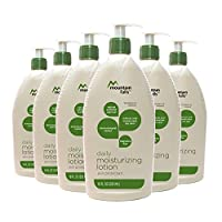 Mountain Falls Daily Moisturizing Lotion Skin Protectant with Natural Colloidal Oatmeal, Fragrance Free, Pump Bottle, 18 Fluid Ounce (Pack of 6)