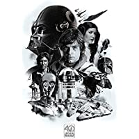 Maxi Poster Star Wars 40th Anniversary Montage