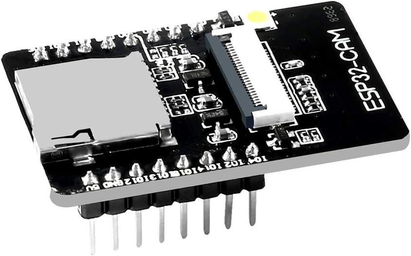 Dealikee 2 Pack ESP32-CAM WiFi Bluetooth Module WiFi ESP32 CAM Development Board with Camera Module OV2640 2MP For Arduino Support Image WiFi and TF Card