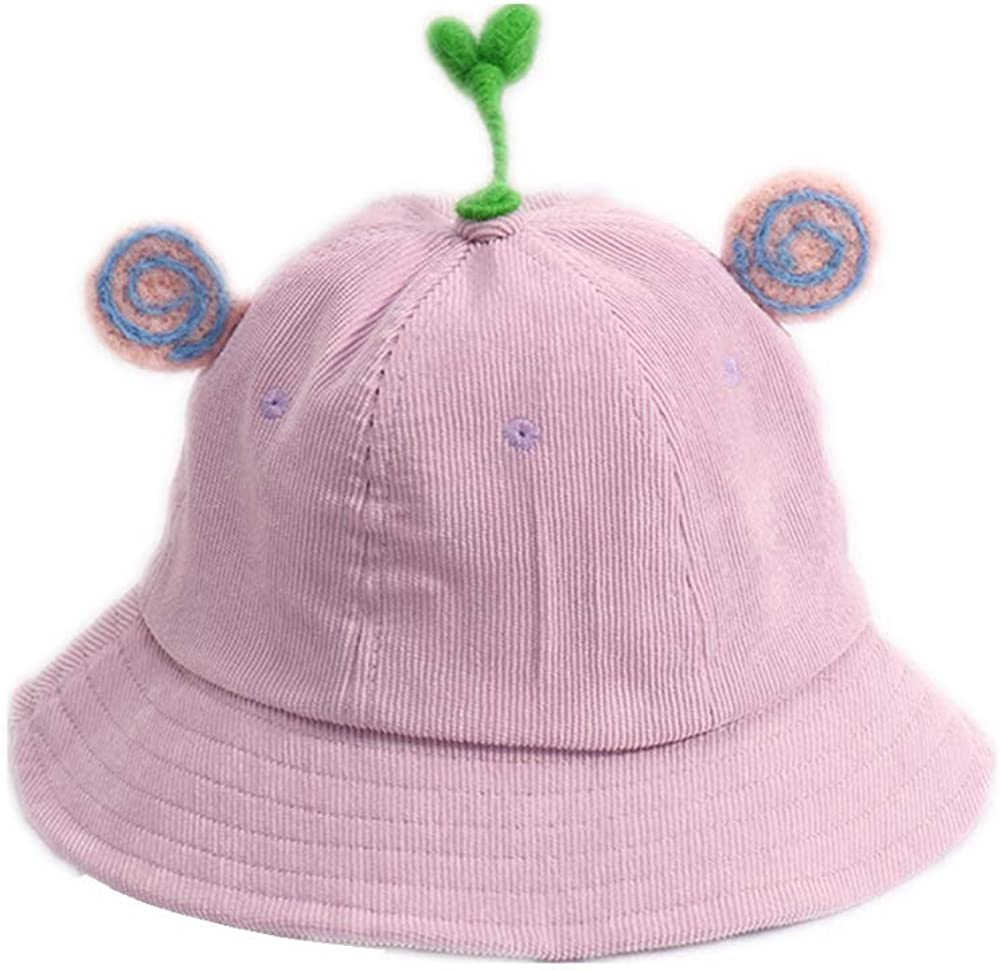 Beautiful Girls Fishermans hat with Funny Grass Sun Protection