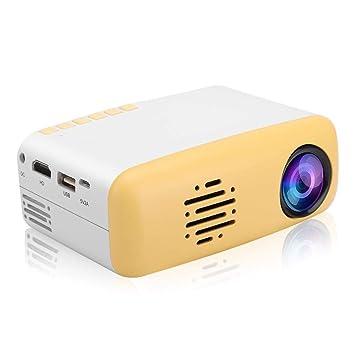 Mini proyector de video, proyector de cine portátil HD 1080P Home ...