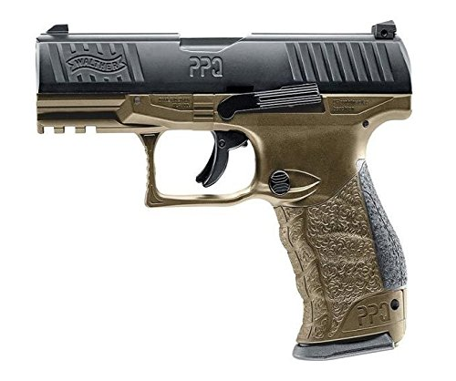 T4E Walther PPQ M2 .43 Caliber Paintball Pistol TAN (DEB)