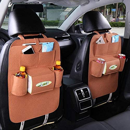 Incorporated Auto Organizer Multi-Pocket Storage Pouch Car Seat Back Bag