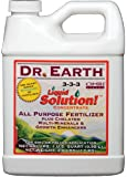 Dr. Earth 752 Liquid Solution Fertilizer, 32-Ounce