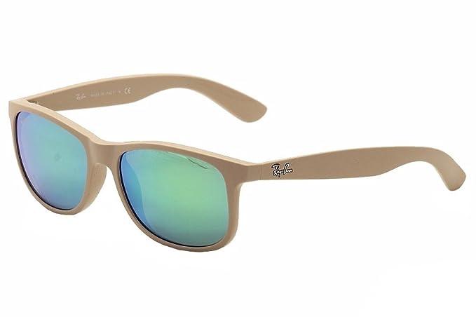 Amazon.com: Ray-Ban 0RB4202 - Gafas de sol cuadradas, Beige ...