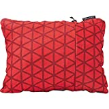 Therm-a-Rest Compressible Travel Pillow for Camping, Backpacking, Airplanes and Road Trips, Cardinal, Medium - 14 x 18 Inches