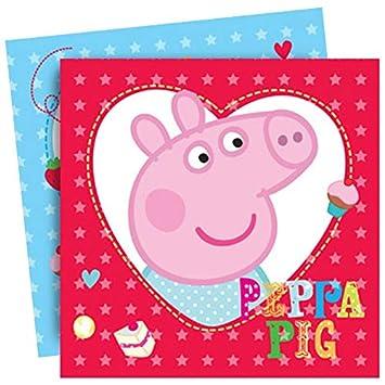 Vasara Servilletas de Papel Peppa Pig (Pack de 16 uds ...
