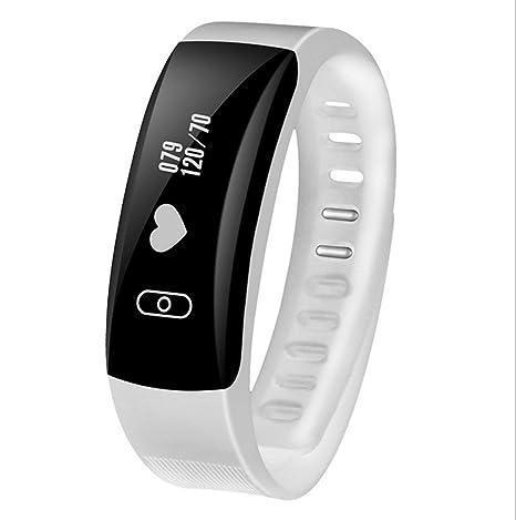 HUWAI Pulsómetros,Fitness Monitores de actividad,24 horas pulsómetro ...
