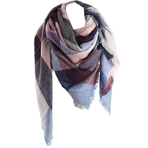 Rachape Women Stylish Warm Blanket Scarf Gorgeous Wrap Shawl Cozy