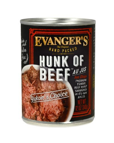 - Evangers Hunk of Beef Hand Packed 12 x 12 oz