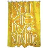 Thumbprintz You are my Sunshine Shower Curtain