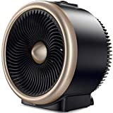 Cheap PELONIS PSH700G PSH700S Space Vortex Heater with Air Circulator Fan, 2 in 1 Portable, 900W/1500W, ETL Listed, Auto Tip-Over Shut Off & Overheat Protection for All Seasons & Whole Room, Silver, Gold