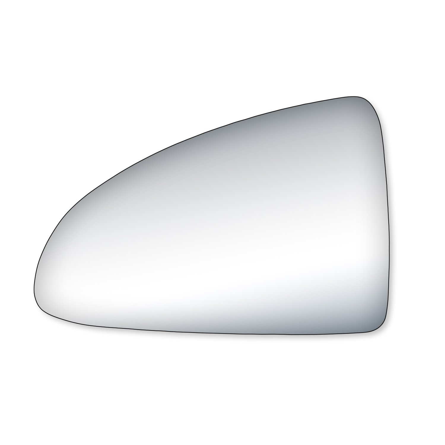 Fit System 99206 Pontiac G6 Driver//Passenger Side Replacement Mirror Glass