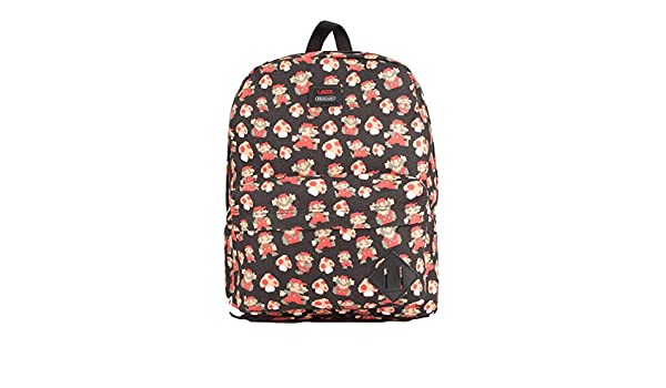 5c4c5b528e4 Amazon.com: Vans Nintendo X Mario Mushroom Backpack Old Skool: Sports &  Outdoors