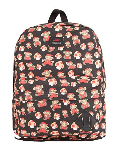 38dd189b8a7 Image Unavailable. Image not available for. Color: Vans Nintendo X Mario  Mushroom Backpack ...