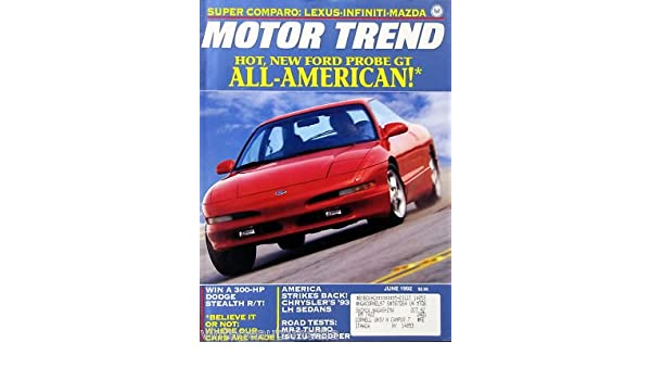 Amazon.com: Hot, All-American Ford Probe GT - June, 1992: Posters & Prints