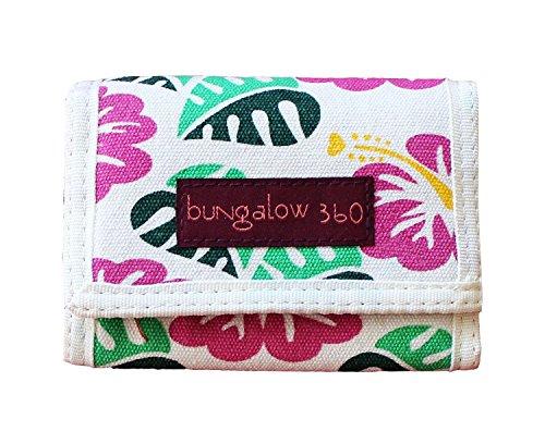 Bungalow 360 Tri-Fold Wallet, Hibiscus Flower