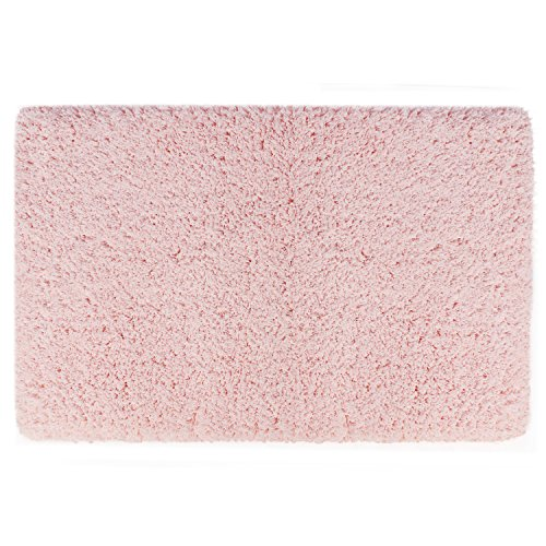 Norcho Soft Microfiber Bedroom Mat Water Absorbent Non-slip Antibacterial Rubber Luxury Bath Mat Rug 31