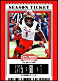 2019 Panini Contenders Draft Tickets Season Ticket #34 DJ Moore NM-MT Maryland Terrapins Officially Licensed NCAA Collegiate Football Trading Card