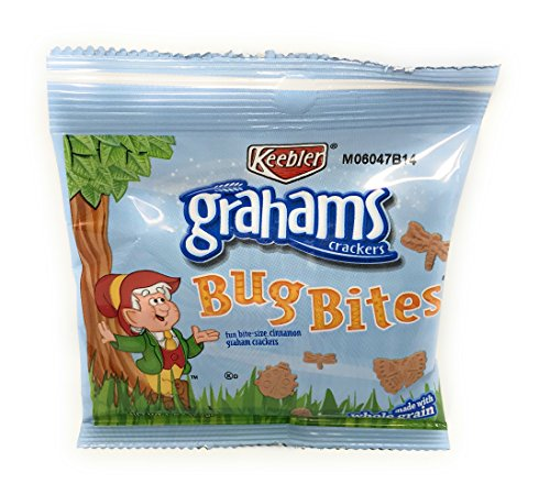 Cracker Bites (Keebler Grahams Bug Bites Snack Packs, 1 oz. (Set of 20))
