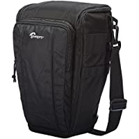 Lowepro Toploader Zoom 55 AW II Camera Case for DSLR and Lens, Black