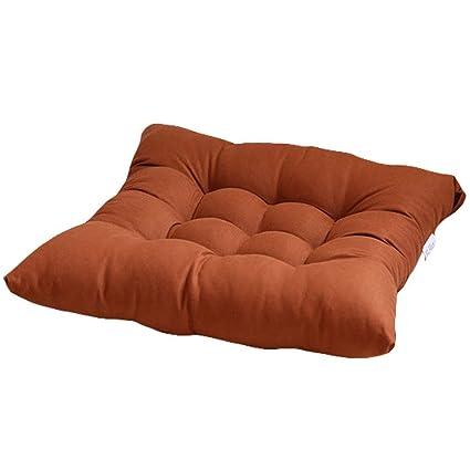 Amazon.com: HomeMiYN - Cojines para silla de oficina (extra ...