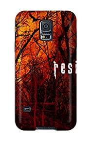 Premium Durable Resident Evil Fashion Tpu Galaxy S5 Protective Case Cover