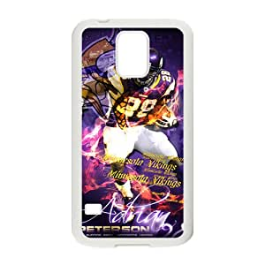 Peterson vikings Phone Case for Samsung Galaxy S5 Case